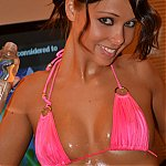 Sweet Bailey Knox Covered In Baby Oil