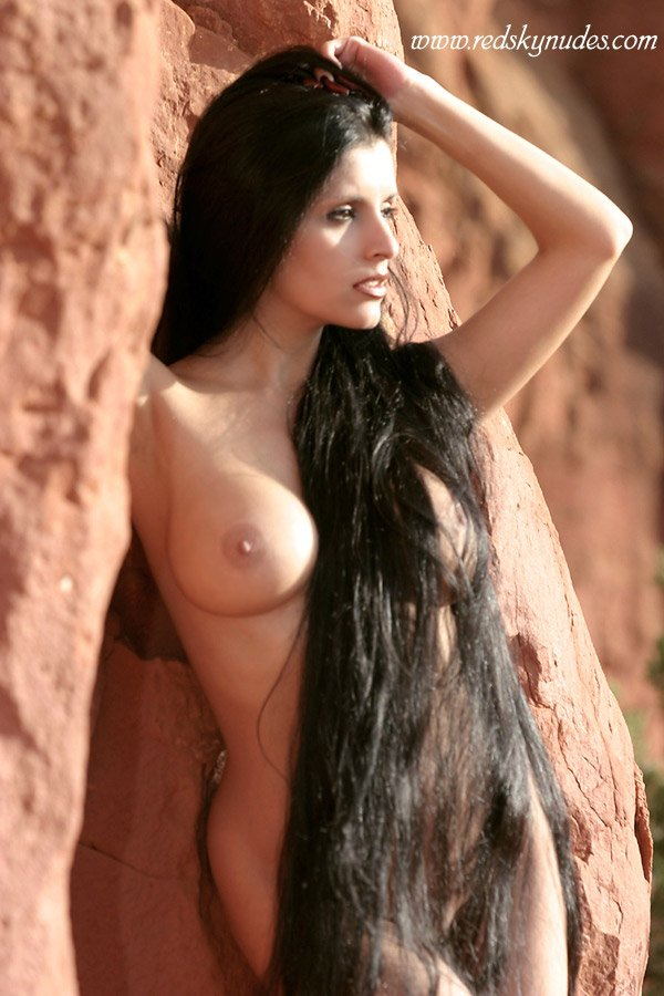 Sexy Long Hair Porn Pics of Blondes, Brunettes, and