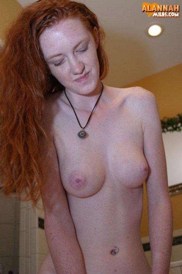 Redhead stripping fuck