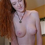 Skinny Redhead Amateur On Sex Machine