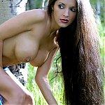 Hirsute Latin Cougar Babe
