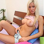 Blonde Hottie Gets Dicked Good