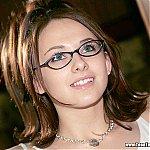 Cute Teenage Babe In Glasses