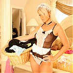 Sexy French Maid Ann Angel