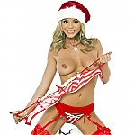 Bree Olson Christmas Cracker
